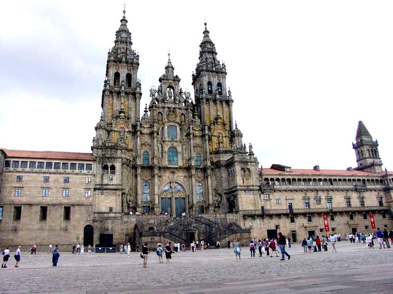 La Coruña - Santiago de Compostela - Catedral - Obradoiro 05