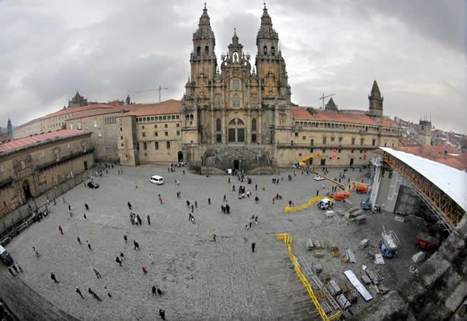 policias-peregrinos-Santiago