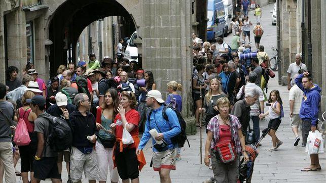 Santiago recibió el año pasado más de 260.000 peregrinos, un 10% más que en 2014