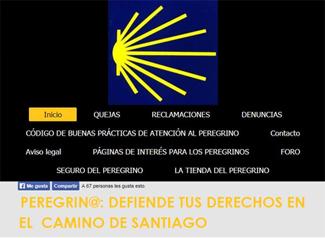 Nace una web jurídica especializada en la defensa de los derechos del peregrino en el Camino de Santiago