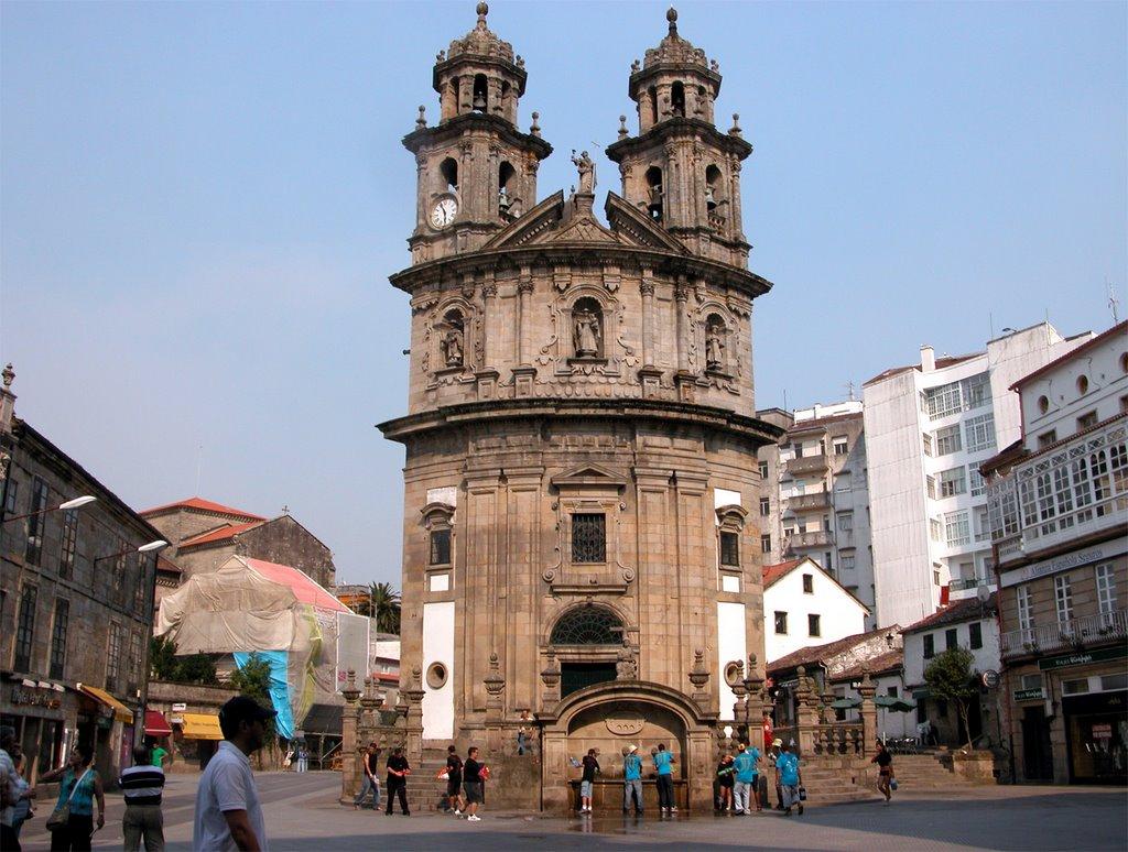 Cerca de 42.000 peregrinos se dejarán un millón de euros en Pontevedra este año