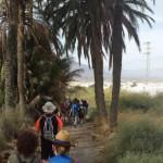 Un centenar de peregrinos recorren la primera etapa de camino mozárabe Almería-Gádor