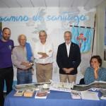Stand jacobeo en el VII Encuentro de Casas Regionales en Sevilla