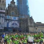 3.057 peregrinos andaluces llegaron a Santiago en septiembre