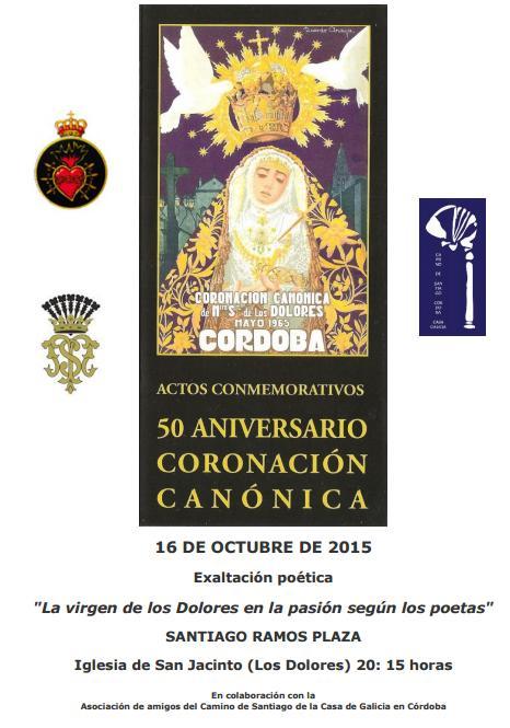 50 Aniversario Coronación Canónica Ntra Sra de los Dolores de Córdoba