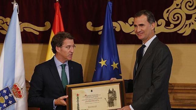 El Rey ya es embajador de honor del Camino de Santiago