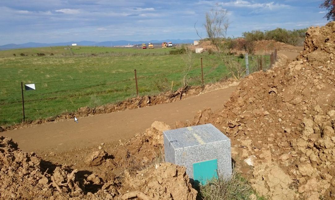 Informe 2015 de la reapertura del camino en los términos municipales de Galisteo y Plasencia