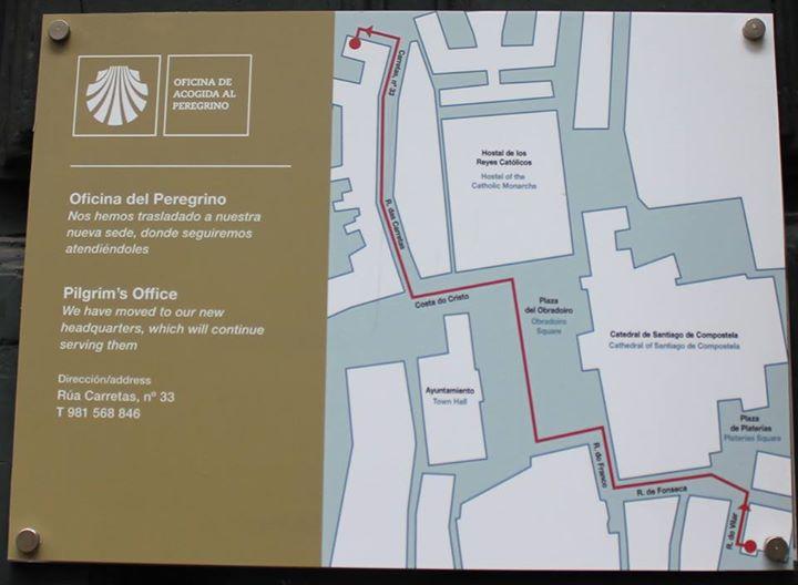 La Oficina de Acogida al Peregrino de la Catedral se traslada a la calle Carretas al nuevo Centro Internacional de Acogida al Peregrino
