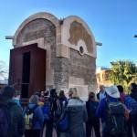 Más de un centenar de peregrinos del Camino Mozárabe conoce los atractivos de Abla