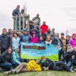 70 geocachers inauguraron el Camino Mozárabe de Málaga