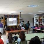 Charla informativa de la asociación de Córdoba a los alumnos de Castro del Rio