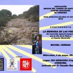 Conferencia de Michel Cerdan en Córdoba el 4 de mayo