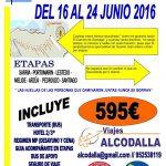 La Asociación de Málaga programa un viaje en junio por el Camino Francés