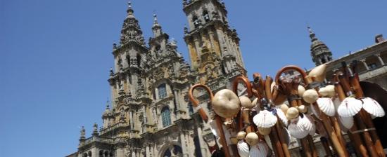 Los peregrinos se pierden en Santiago