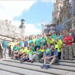 La Asociación de Amigos del Camino de Santiago en Cádiz finaliza su peregrinación a Santiago de Compostela