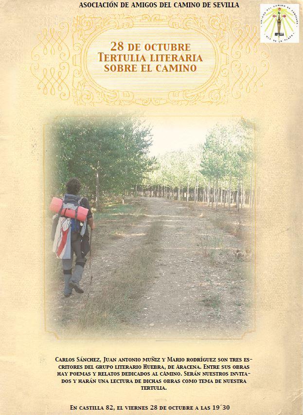 Tertulia Literaria sobre el camino de Santiago en Sevilla