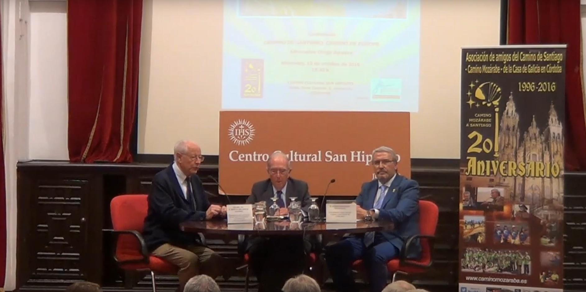 """Conferencia """"CAMINO DE SANTIAGO, CAMINO DE EUROPA"""""""