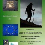 Conferencia en Córdoba de Fernando Santos Urbaneja