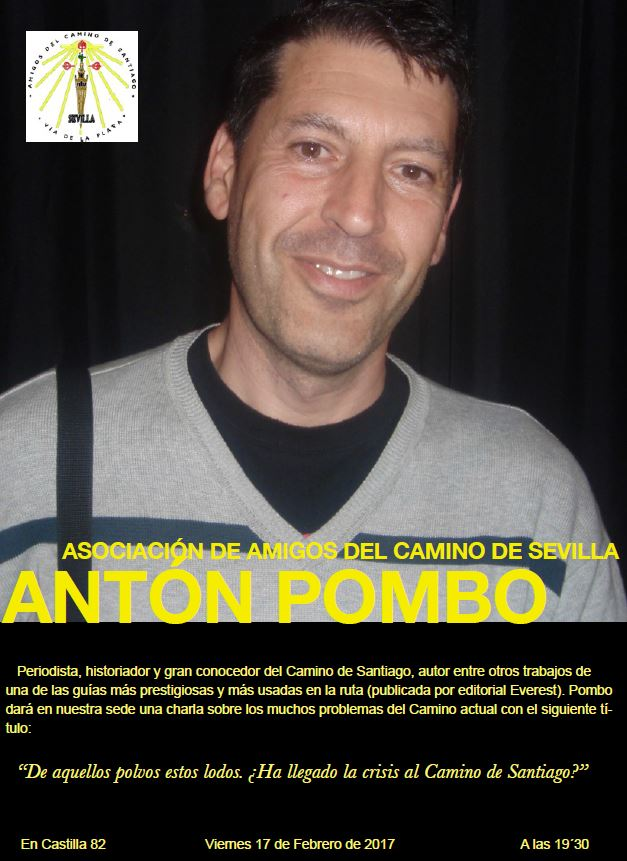 Charla – Coloquio de Antón Pombo Rodríguez en Sevilla