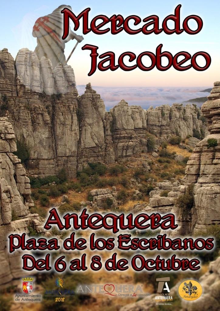 Mercado Jacobeo del 6 al 8 de octubre en Antequera