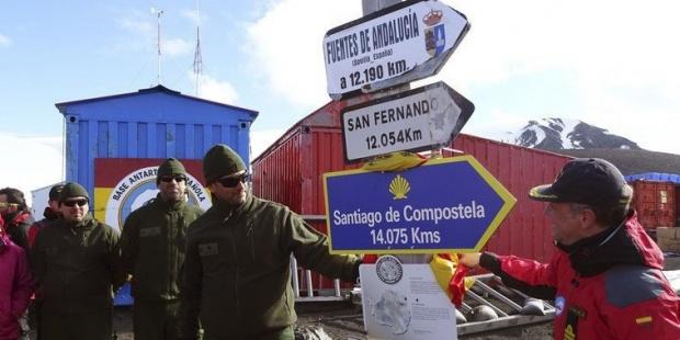 Antequera acoge la exposición fotográfica sobre la primera peregrinación antártica a Santiago de Compostela