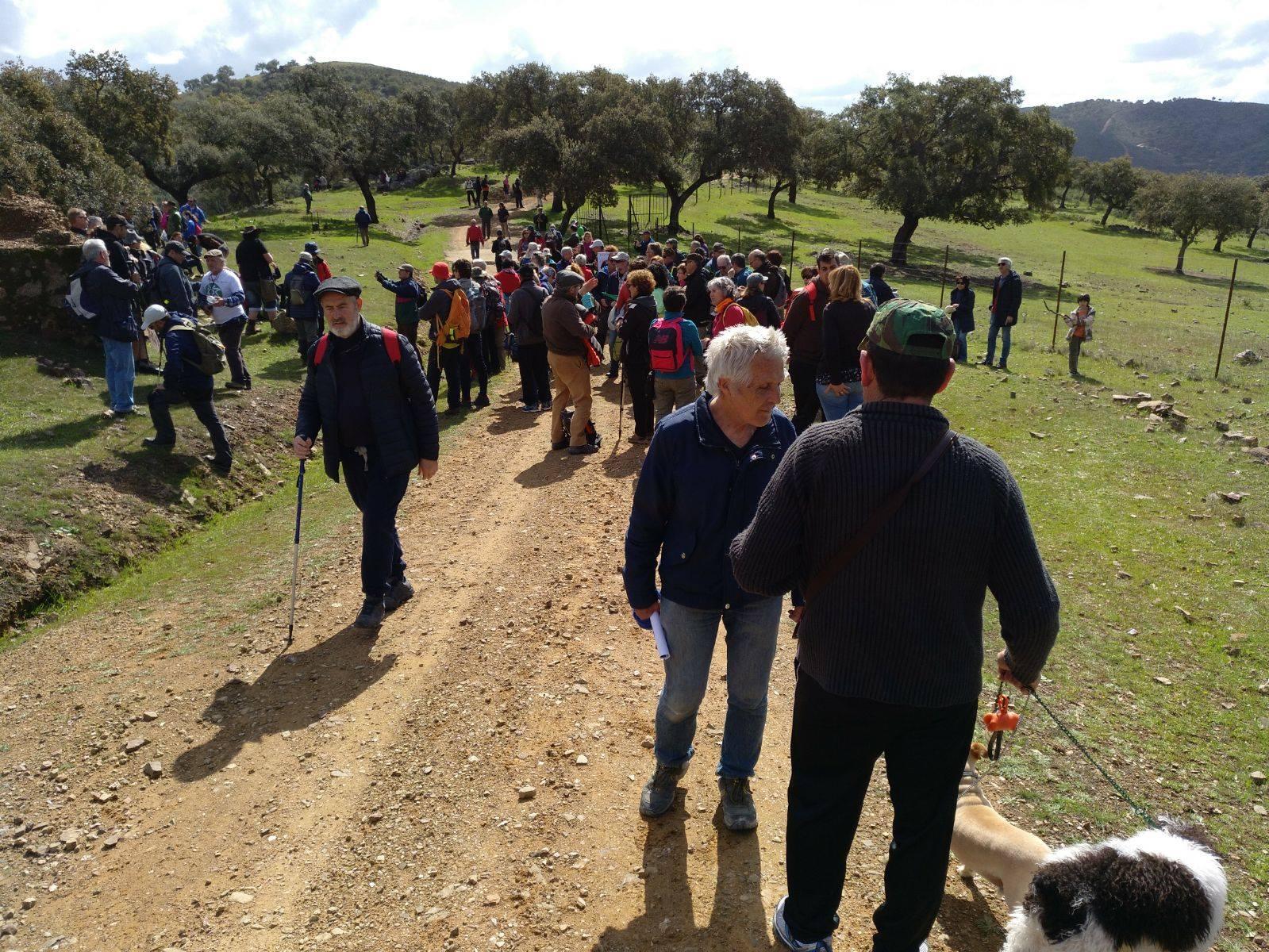 Manifestación en defensa de la Vía Pecuaria «Salto de la Trocha»