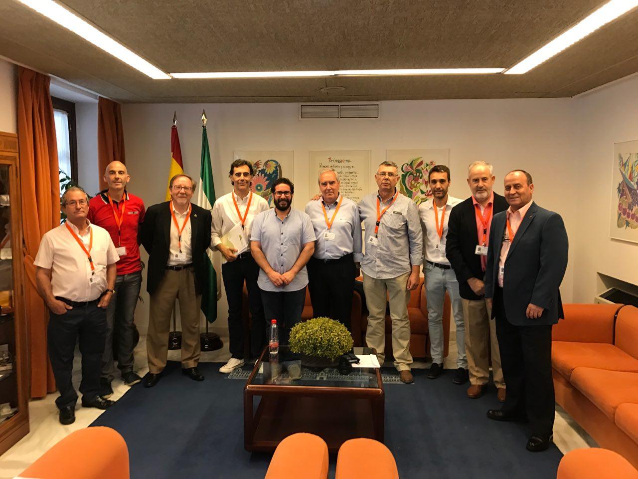 Comparecencia en el Parlamento de Andalucía de la Federación Andaluza en relación a la Proposición de Ley relativa a Caminos Públicos Rurales