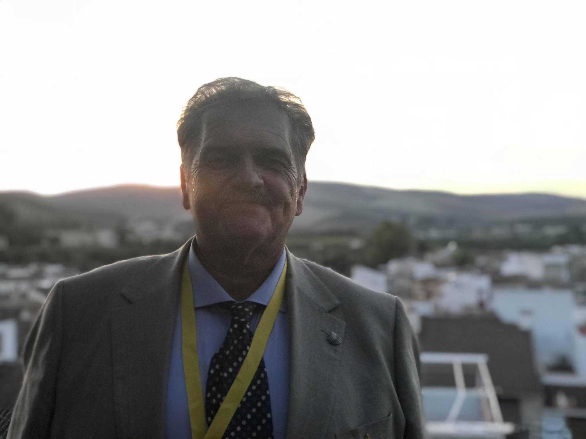 Jacinto Fuentes: «Este año vamos a superar los 4000 peregrinos que van andando por los caminos andaluces»