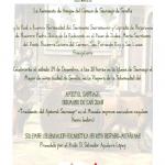Actos en Sevilla por la Traslatio de Santiago Apóstol