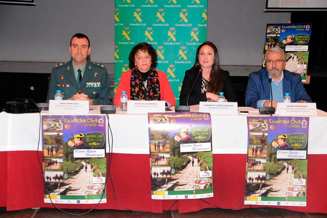 Cinco etapas del Camino Mozárabe para conmemorar el 175 aniversario de la Guardia Civil