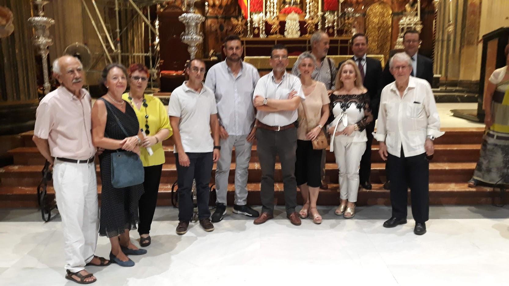 Actos realizados por la Asociación de amigos del Camino de Santiago de Sevilla con motivo del día de Santiago 2019