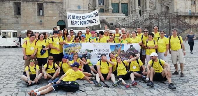 Jóvenes con discapacidad intelectual completan los 113 kilómetros del Camino de Santiago y ganan la «Compostela»