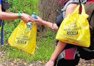 Ecoperegrinos y el camino del reciclaje