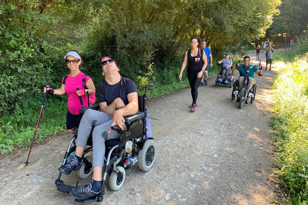 El Camino de Santiago, una experiencia de superación para personas con discapacidad
