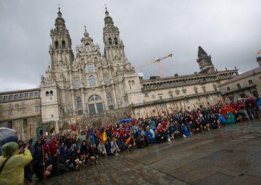 La llegada del peregrino 200.000 a Santiago se adelanta de octubre a agosto entre alertas de masificación