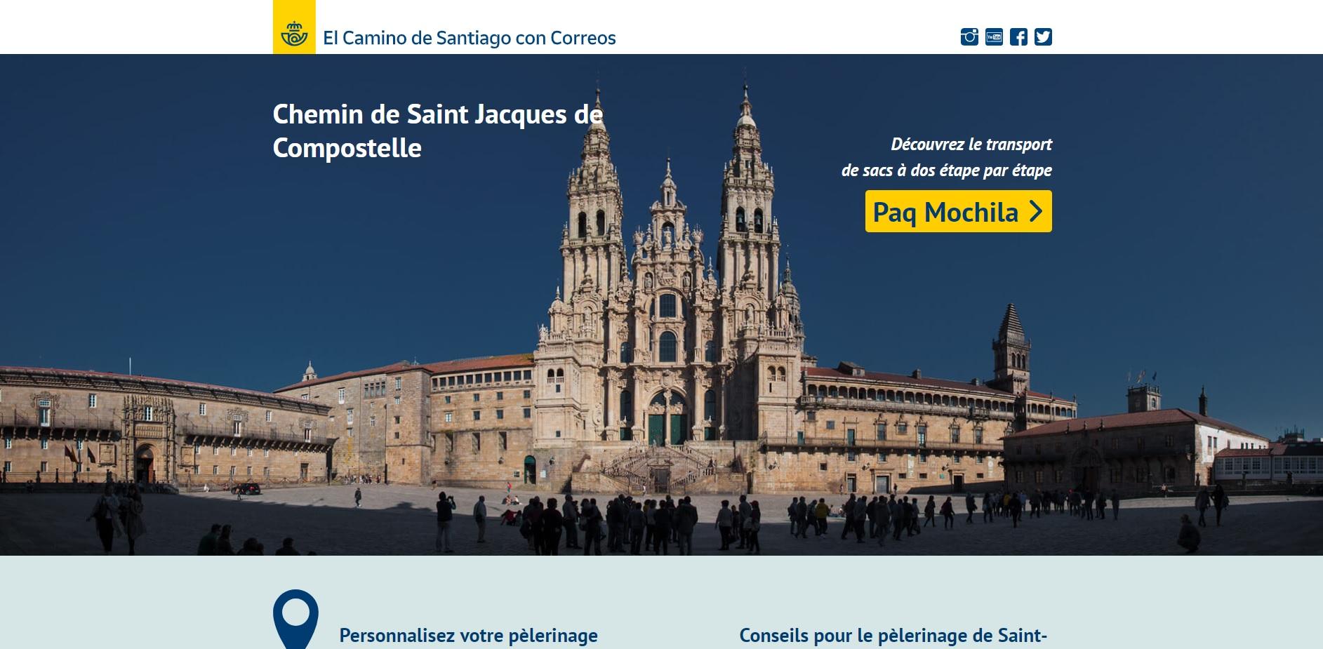 Los peregrinos franceses cuentan con una web especializada en el Camino de Santiago