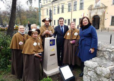 La Xunta señaliza el Camino de Santiago en Cracovia