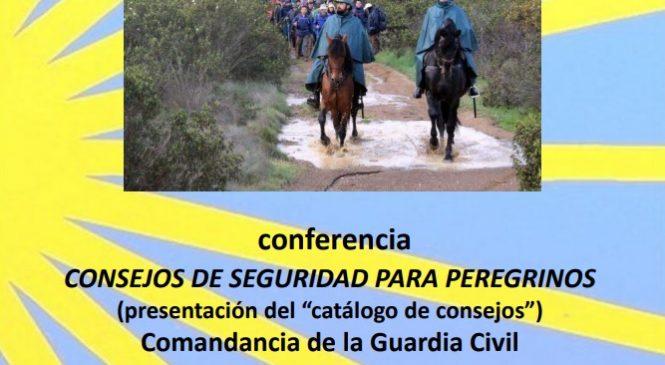 Conferencia en Córdoba el próximo martes: Consejos de seguridad para peregrinos