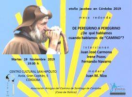 Mesa redonda en Córdoba: ¿De que hablamos cuando hablamos de «Camino»?
