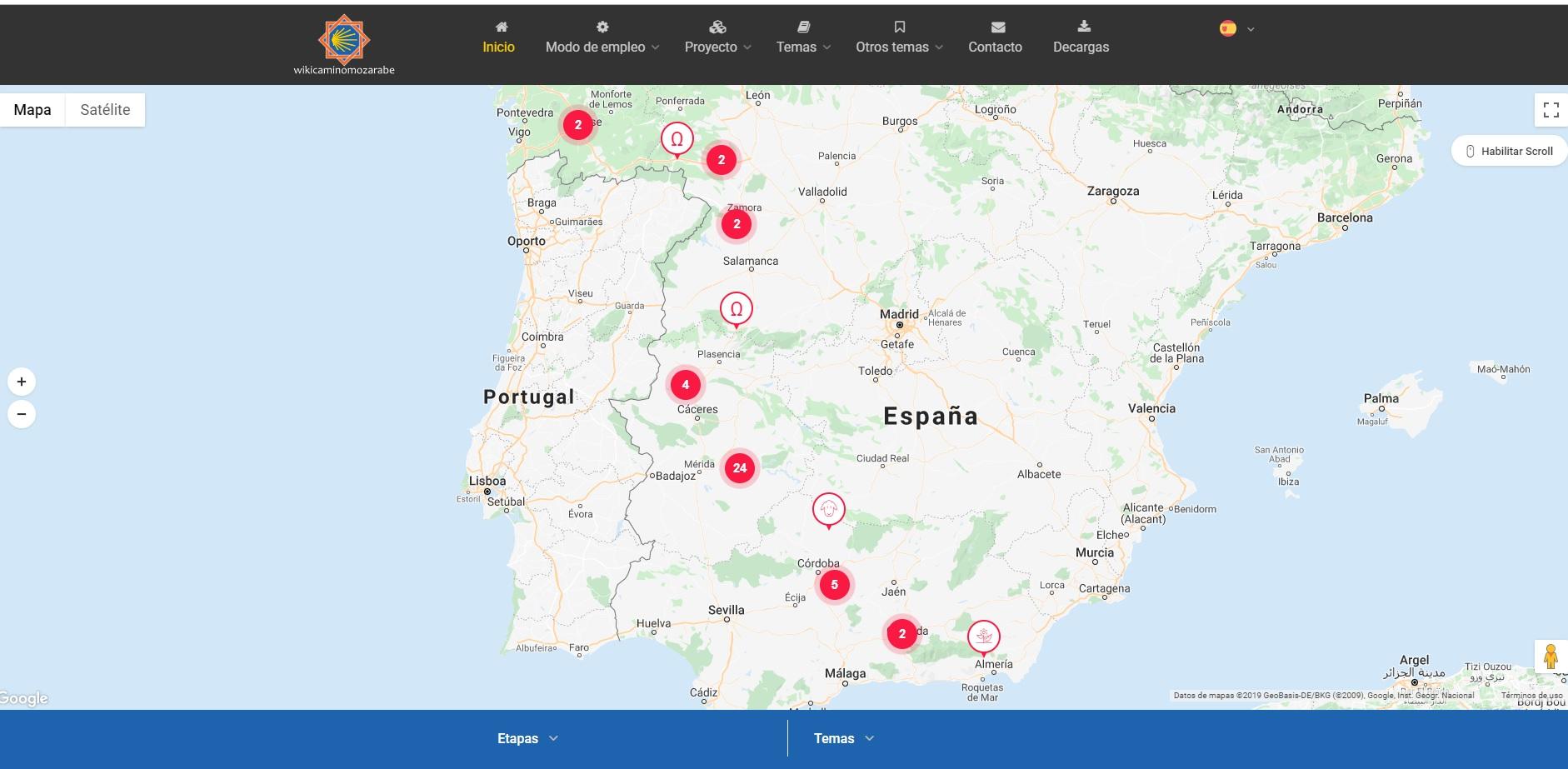 Nace wikicaminomozarabe.com, la mayor información del Camino Mozárabe de Almería a Santiago