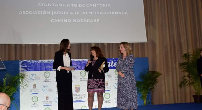 La Asociación Jacobea de Almería-Granada Camino Mozárabe galardonada con el Premio»Promoción del senderismo de la provincia»
