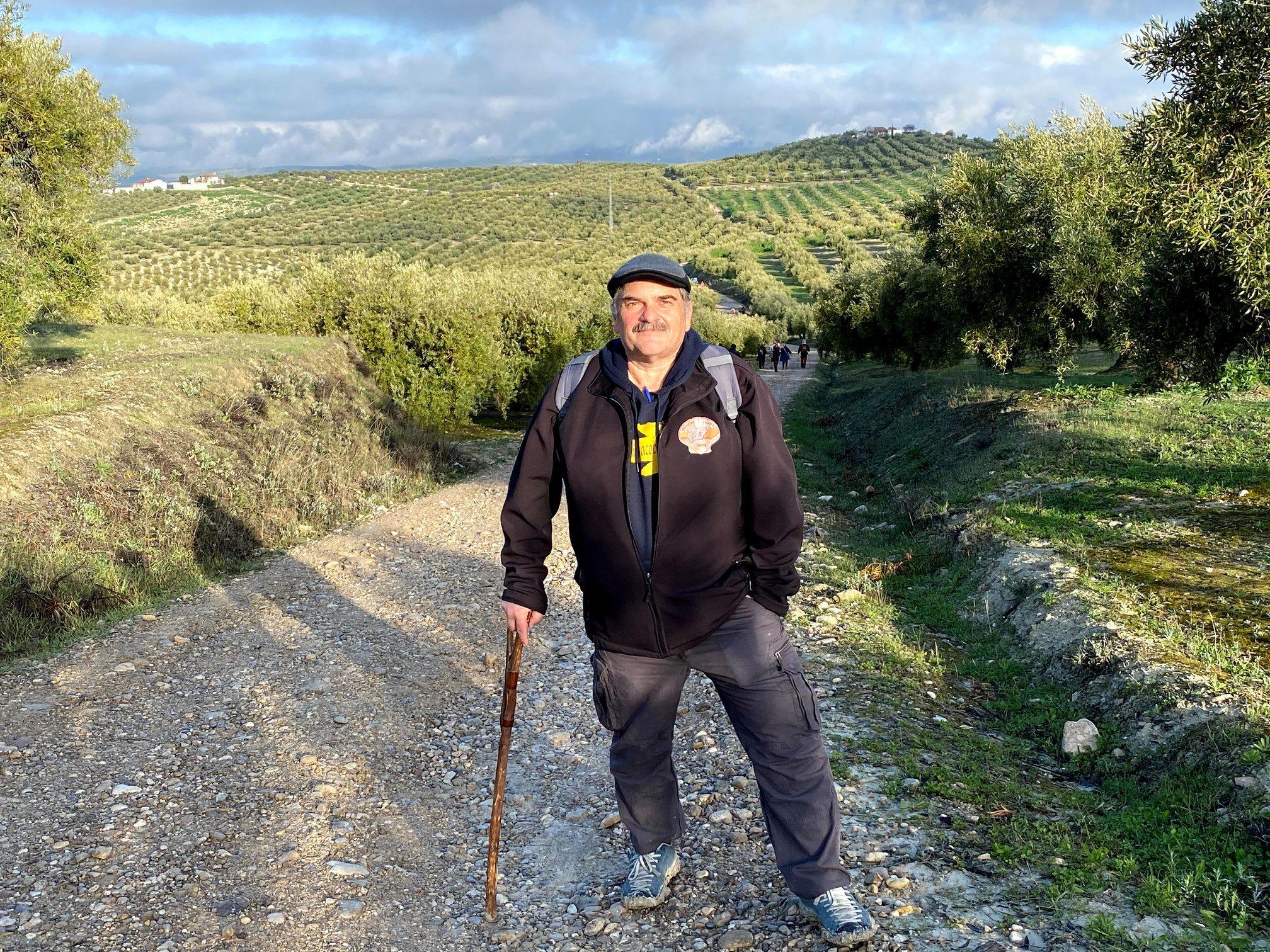 Jacinto Fuentes: «El Camino siempre estará ahí y en el momento que se pueda volverán los peregrinos»
