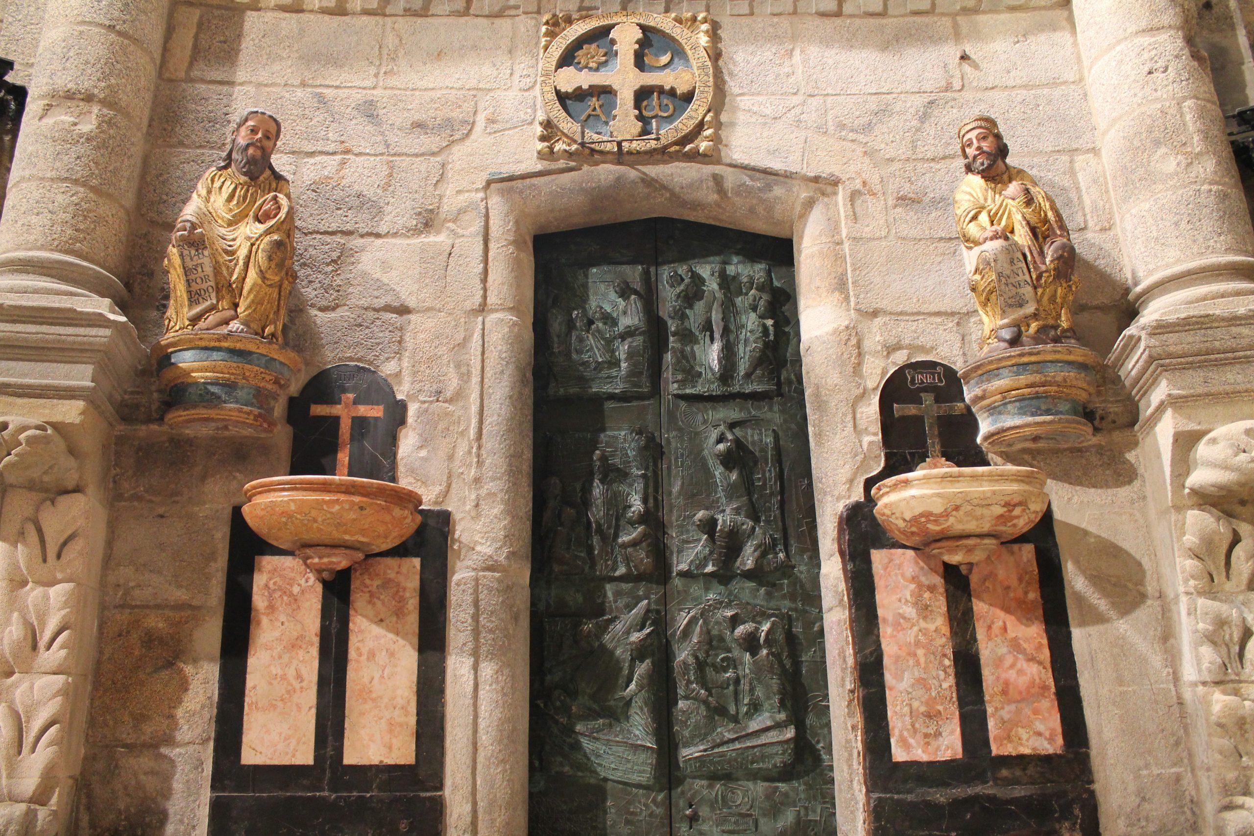 Emisión en streaming de la apertura de la Puerta Santa de la Catedral de Santiago