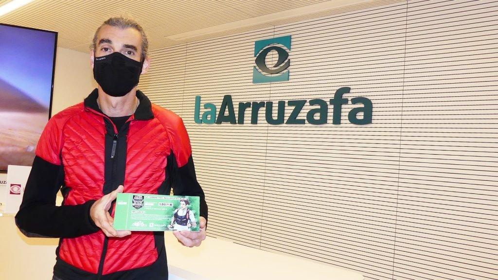 Rafael Argote compite en la 'trail' más larga del mundo para recaudar fondos destinados a la Fundación La Arruzafa